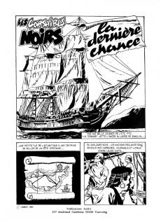 Extrait de Ouragan (3e série) -4- Les corsaires noirs - La dernière chance