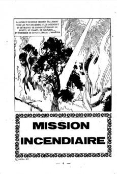 Extrait de Flash espionnage (1re série) -83- Mission incendiaire