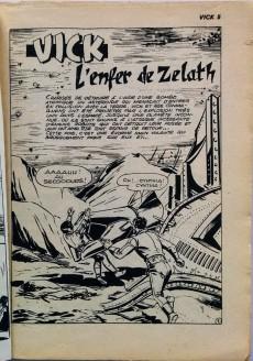 Extrait de Vick -5- L'enfer de Zelath