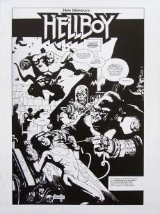 Extrait de Hellboy (Delcourt) -HS- La Bible infernale