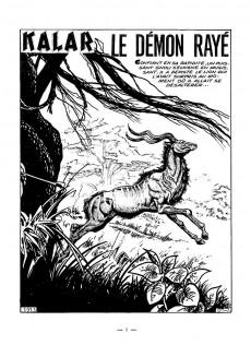Extrait de Kalar -28- Le démon rayé