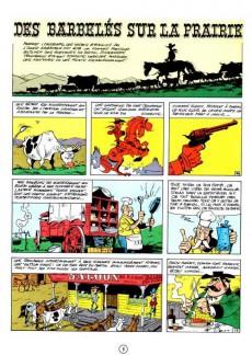 Extrait de Lucky Luke -29a84- Des barbelés sur la prairie