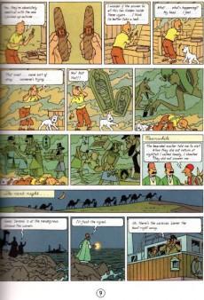 Extrait de Tintin (The Adventures of) -4c- Cigars of the Pharaoh