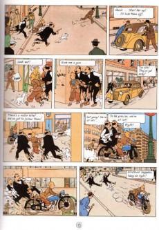 Extrait de Tintin (The Adventures of) -8d- King Ottokar's Sceptre