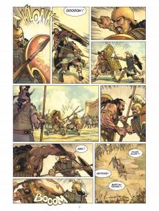 Extrait de L'iliade (Taranzano/Bruneau) -2- La Guerre des Dieux