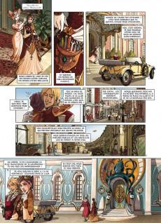 Extrait de Princesse Sara -10- La Guerre des automates
