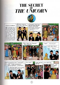 Extrait de Tintin (The Adventures of) -11a74- The Secret of the Unicorn