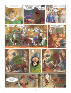 Extrait de Tosca des Bois -1- Jeunes filles, chevaliers, hors-la-loi et ménestrels