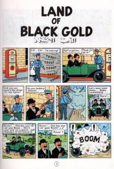 Extrait de Tintin (The Adventures of) -15b90- Land of Black Gold