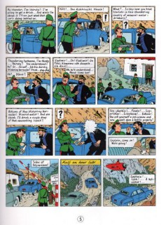 Extrait de Tintin (The Adventures of) -16c1990- Destination Moon