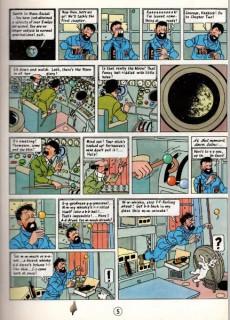 Extrait de Tintin (The Adventures of) -17a90- Explorers on the Moon
