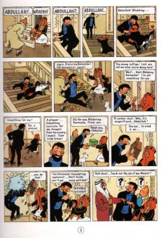 Extrait de Tintin (The Adventures of) -19c1990- The Red Sea Sharks