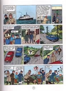 Extrait de Tintin (The Adventures of) -7d1990- The Black Island
