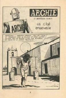 Extrait de Archie (Jeunesse et Vacances) -34- la cité ensevelie