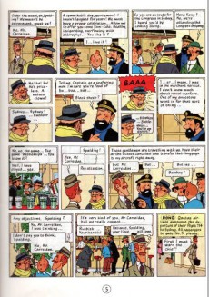 Extrait de Tintin (The Adventures of) -22b76- Flight 714