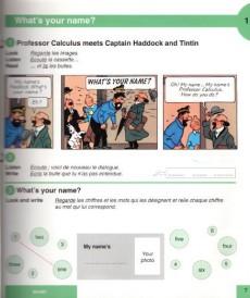 Extrait de Tintin - Divers - Tintin et les mystères de l'anglais