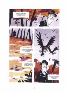 Extrait de Poèmes en bandes dessinées -b17- Poèmes de Baudelaire en BD