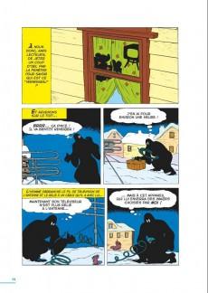 Extrait de Les grandes aventures de Romano Scarpa -1- Le double secret du fantôme noir et autres histoires (1953-1956)