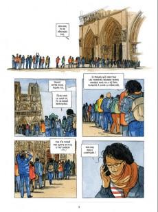 Extrait de Dans les coulisses... -1- Dans les coulisses de Notre-Dame de Paris
