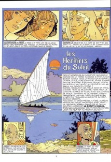 Extrait de Les héritiers du soleil -3- La veuve-mère