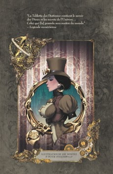 Extrait de Lady Mechanika -INT2- Intégrale Cycle II - Edition collector