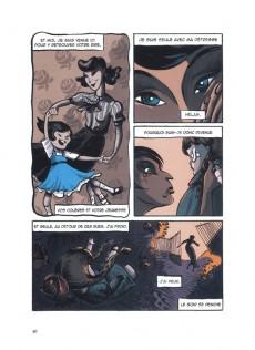 Extrait de Chansons en Bandes Dessinées  -a17- Chansons de barbara en bandes dessinées