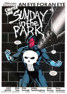 Extrait de Punisher War Journal Vol.1 (Marvel comics - 1988) -1- An Eye for an Eye Chapter One Sunday in the Park