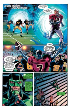 Extrait de Justice League Rebirth (DC Presse) -5- Tome 5