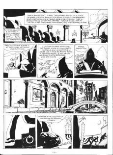 Extrait de Corto Maltese (Noir et blanc relié) -7- Fable de Venise