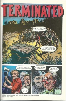 Extrait de Twisted tales (1982) -5- Twisted Tales NO.5