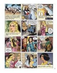 Extrait de Lilioute et le chevalier -a- Lilioute et le chevalier Perce-Brume