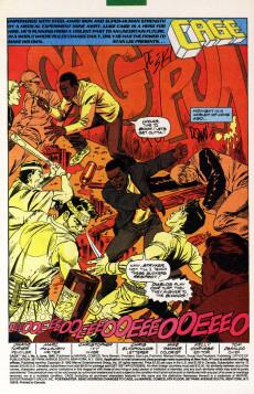 Extrait de Cage Vol. 1 (Marvel - 1992) -3- Bad Debts