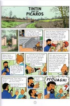 Extrait de Tintin (The Adventures of) -23c- Tintin and the Picaros