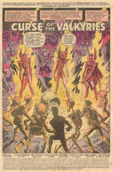 Extrait de New Mutants (The) (1983) -80- Curse of the Valkyries