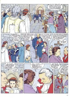 Extrait de La marquise des Lumières -1- La vierge et l'enfant