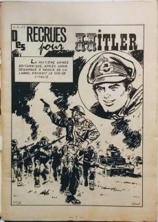 Extrait de Z33 agent secret -2- Des recrues pour Hitler