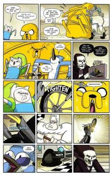 Extrait de Adventure Time x Regular Show -3A- Adventure Time x Regular Show Part 3 Of 6