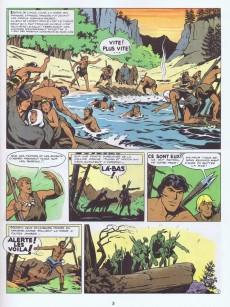 Extrait de Tounga (Cartonnée) -2- Et les hommes-rouges