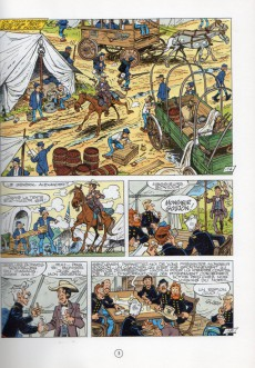 Extrait de Les tuniques Bleues -26a1994- L'or du Québec