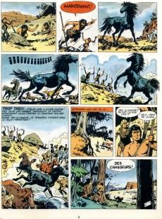 Extrait de Tounga (Cartonnée) -9- L'étalon noir
