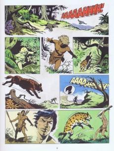 Extrait de Tounga (Cartonnée) -10- Le peuple des arbres