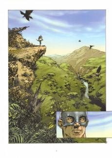 Extrait de Le serment de l'Ambre -4- Le désert d'Akaba