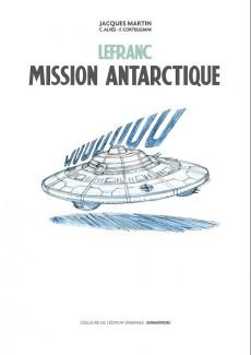 Extrait de Lefranc -26TT- Mission antarctique