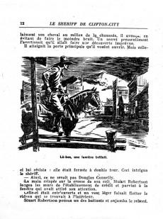 Extrait de Coq-Hardi (Collection) -30- Le sheriff de Clifton-City