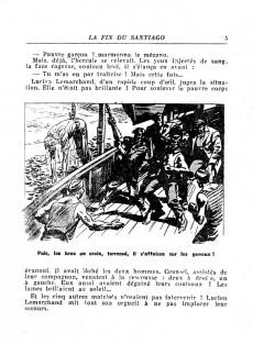Extrait de Coq-Hardi (Collection) -40- La fin du Santiago