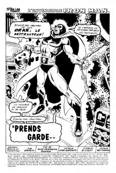 Extrait de L'invincible Iron Man (Éditions Héritage) -10- Prends garde... aux Frères sanguinaires !