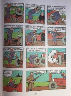 Extrait de Tintin - Pastiches, parodies & pirates - Tintin au pays des soviets