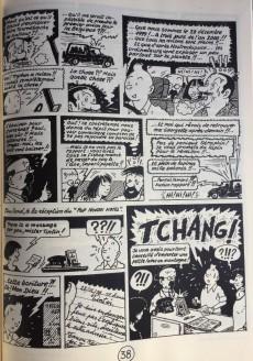 Extrait de Tintin - Pastiches, parodies & pirates -1e- Tintin en Thailande