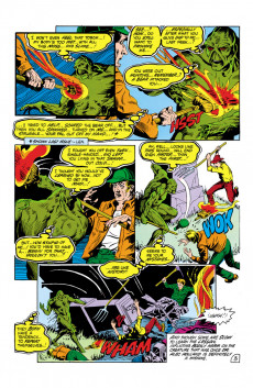 Extrait de Swamp Thing Vol.2 (DC comics - 1982) -2- Something To Live For