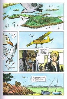 Extrait de Fanch Karadec l'enquêteur breton -4- l'énigme Gavrinis